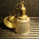 Vintage Brass Ceiling Lamp