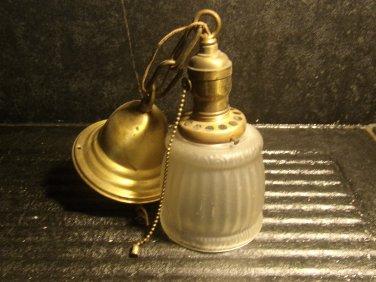 Vintage Brass Ceiling Lamp