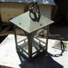 Vintage Copper School House Ceiling Lamp