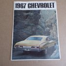 Vintage 1967 Chevrolet Brochure
