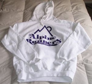 Alpine Runners Hoodie - Size Small