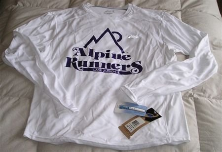 Alpine Runners CoolMax Long Sleeve - Size Small