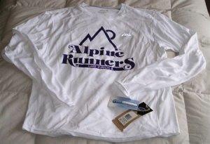 Alpine Runners CoolMax Long Sleeve - Size Medium