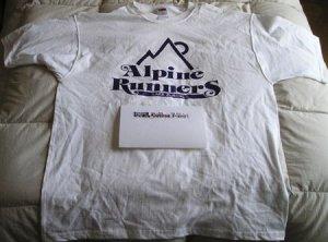 Alpine Runners Cotton T-Shirt - Size X-Large
