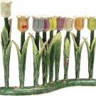 Pastel Tulips Menorah