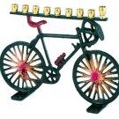 Old-School Bicycle Menorah