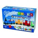 Clics 130pc Choo-Choo Train Builders Toy