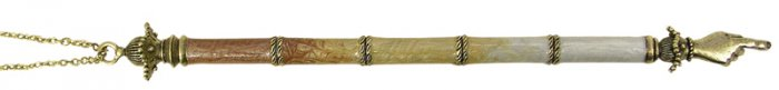 Tan and Gold Faded Color Torah Pointer  (Yad) - 10% off!