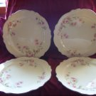 Homer Laughlin Virginia Rose Dinner Plates Moss Rose JJ59
