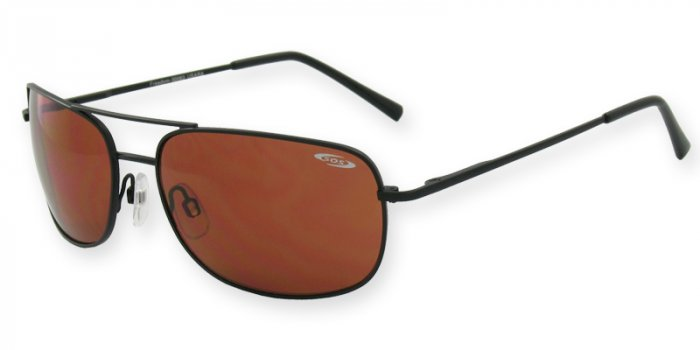 Freedom-Ranger Frame/Lens Color Monel Matte Black Frame, Optical Spring Hinge, PC Driving Lenses