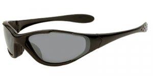 Tracer Ranger Sunglasses Frame/Lenses : Matte Black Frame w/ PC Smoke, Yellow and Brown Lenses