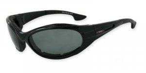 Osprey - Black w/TAC Smoke Polarized 1.0MM Lenses