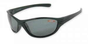 Kauai - Shiny Black w/TAC Polarized Smoke 1.0MM Lenses