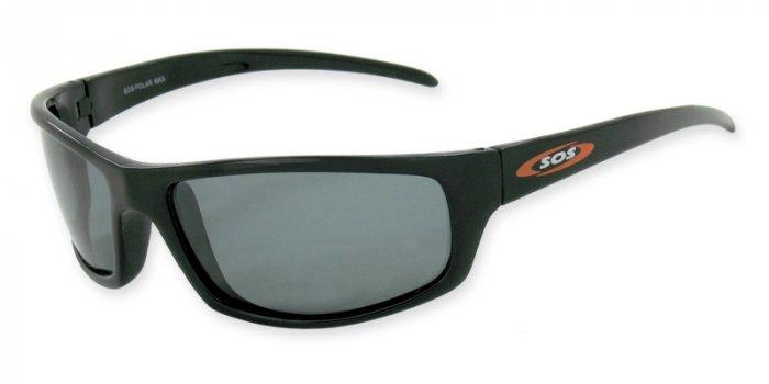 Hammerhead  - Black w/TAC Smoke Polarized 1.0MM Lenses