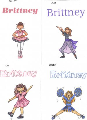 Personalized Scrapbook Craft Cards! (FREE SHIPPING)
