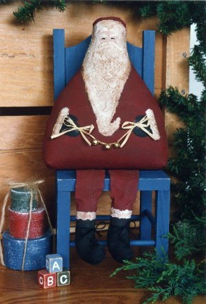 Old St Nick Primitive Craft Pattern
