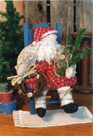 Primitive Woodsman Santa Pattern