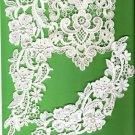 3 pieces vintage lace appliques