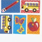 Lot of school themed die cuts-lot 4