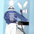 Jolees Drum major cloth sticker set for scrapbook greeting card altered art crafts