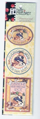 Mary Englebreit stickers child and dog