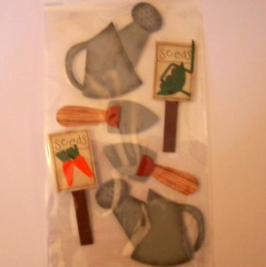 Paper Bliss Gardening embellishments for scrapbook greeting card altered art crafts