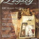November 2006 Legacy Magazine digital photos journals new products