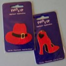 Red Hat Society red hat and shoes appliques MIP