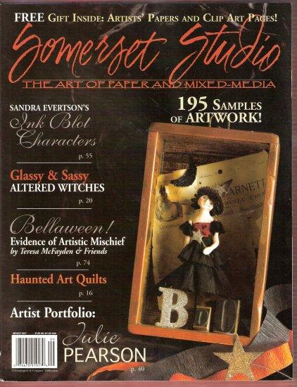 October 2007 Somerset Studio Magazine