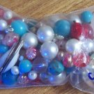 Vintage beads grab bag pearls gemstones metal plastic more