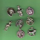 Lot 1950s vending machine plastic charms western Cowboy theme