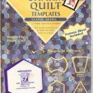 Charm quilt  acrylic templates apple core tumbler hexagon pyramid