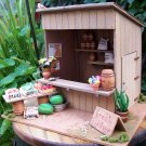 One of Kind handmade country fruitstand miniature