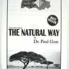 The Natural Way booklet (black and white)