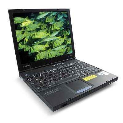 COMPAQ N400C SUPER SLIM HI POWERED WIRELESS XP LAPTOP
