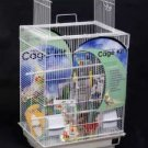 Parrot Cage Starter Kit 18x18 White Playtop