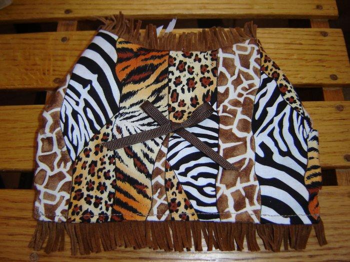 Safari Print Dog Vest