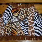 Safari Print Dog Vest