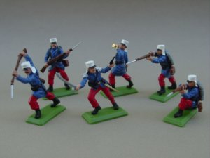 Britains Deetail Toy Soldiers by DSG - Commemorative French Foreign Legion 1914