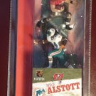 Mike Alstott & Ricky Williams collectible figures - super detailed - MIP