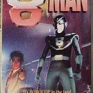 8 Man VHS video movie - like the 8Th Man cartoon - live action Japanese robot superhero
