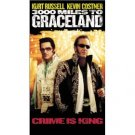 3000 Miles to Graceland VHS video movie - Kurt Russell, Kevin Costner, Elvis Presley