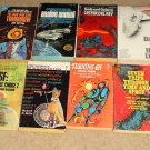 12 different 1960's & 1970's Science Fiction paperback books - great reading!
