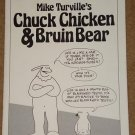 Mike Turville's Chuck Chicken & Bruin Bear comic magazine - 1986 - NM