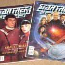 Star Trek the Official Fan Club magazine #'s 86 & 87 - 1992, Nm / MINT