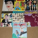 Love and Rockets comic book #'s 14, 25, 34, 41, 42, 43, 45  - Fantagraphics books NM / Mint