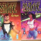 Mage the Hero Discovered Book 1 & 2 comic book trade paperback - MINT