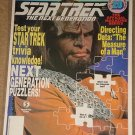 Star Trek The Next Generation magazine Vol. #20, Worf, Data, trivia, MINT