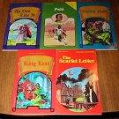 5 Pocket Classic & Biography books (like Classics Illustrated) Pele, Shakespeare, MORE!