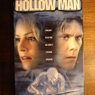 Hollow Man VHS video tape movie Kevin Bacon Elisabeth Shue modern Invisible Man, Incredible effects